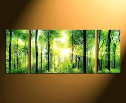 lime green wall art large green wall art 3 piece photo canvas home decor scenery huge lime green wall art