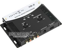 hifonics hb bass reconstruction sound processor w bass driver zoom