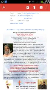 STAR777 DIARY: Prophet Sadhu Sundar Selvaraj Conference 1 2 3 December 2017  United States America