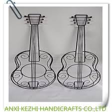 two 23 metal wire guitar wall art 3 dimensional music sculpture black  on metal wire guitar wall art with two 23 metal wire guitar wall art 3 dimensional music sculpture
