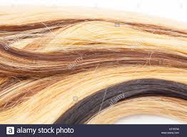 european human hair extension weft colored dry and silky hairs brown light blond red mixed