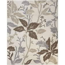 Small Picture Home Decorators Collection Blooming Flowers Gray 2 ft x 3 ft