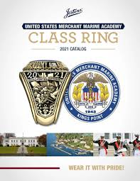 Jostens Class Ring Size Chart United States Merchant Marine Academy Class Ring 2021