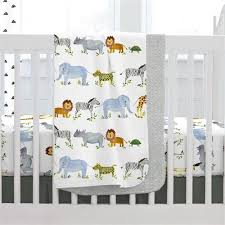painted zoo crib bedding carousel designs
