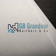 Grandeur Design And Construct Elegant Serious Construction Company Logo Design For Gb