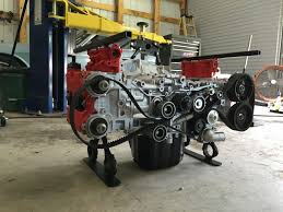 father son duo builds wrx boxer engine