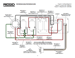 ridgid generator wiring diagram ridgid image ridgid rd906812a rd906812b generator on ridgid generator wiring diagram