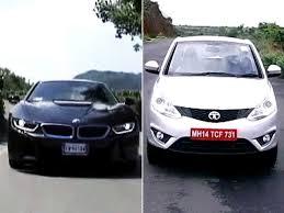 BMW I8, Tata Zest \u0026 Audi A3