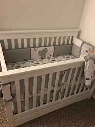 jungle safari 6 piece baby crib bedding