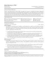 Finance Manager Resume Finance Manager Resume Templates Sources