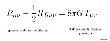 100 años de la Teoría General de la Relatividad – FISICA.QUIMICA.ASTRONOMIA