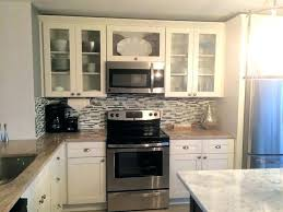 shaker glass cabinet doors amazing of white kitchen frosted cabinets how to make diy kreg