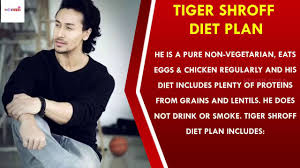 Tiger Shroff Diet Plan Chart Tiger Shroff Workout Routine And Diet Plan 2018 Must Watch