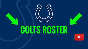 Indianapolis Colts Depth Chart 2018 Indianapolis Colts 2019 Roster Breakdown