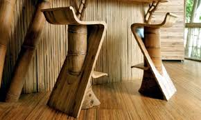 bamboo furniture designs. Bamboo Furniture Can Be Produced In Many Different Designs - From Simple And Functional To Ornate Eccentric. Chairs, Beds, Benches Even The Lights T