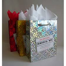 21st birthday survival kit for male fun gift idea novelty present for