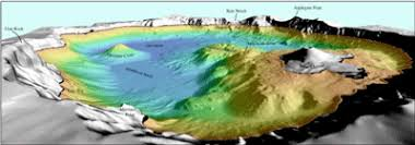 Crater Lake Bathymetry Crater Lake National Park U S