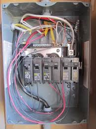 properly wiring a gfci breaker in a subpanel doityourself com how to wire a breaker box diagrams at Breaker Box Wiring