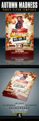 autumn party flyer template by creativb graphicriver autumn party flyer template clubs parties events