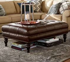 unique abbyson living havana round leather coffee table best 25 ottoman coffee tables ideas on