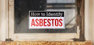 how to identify asbestos during a