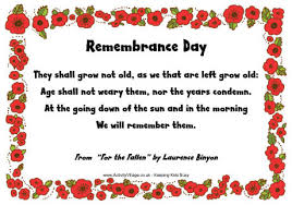 Remembrance Sunday Poems