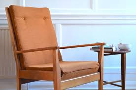 scandinavian retro furniture. Stylish Vintage Danish Style Armchair. Modern / Mid Century Scandinavian Retro Style. Furniture