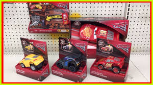 cars 3 toys talking lightning mcqueen jackson storm toy hunt disney cars crazy crashing action