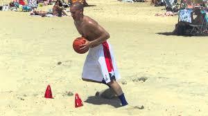 Wesley Guillen Basketball Beach Workout. - YouTube