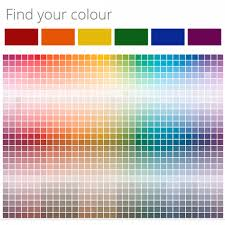 Ral Chart Download Colour Inspiration Plascon National Paint Ral Color Chart