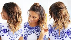 Fancy Easy Cute Hairstyles For Short Hair 68 Inspiration With Easy