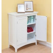 Bayfield White Double-door Floor Cabinet by Essential Home ...