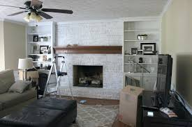 what color should i paint my brick fireplace tutorial how to whitewash a brick fireplace paint
