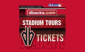 Dbacks Tickets Seating Chart Tickets Chase Field Stadium Tours Phoenix Az At
