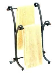 standing towel rack oil rubbed bronze. Oil Rubbed Bronze Free Standing Towel Rack Sevenstonesinc B