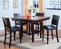 fulton  piece counter height dining set with lazy susan