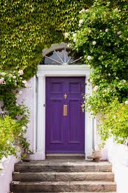 10 Cheery, Colorful Front Doors
