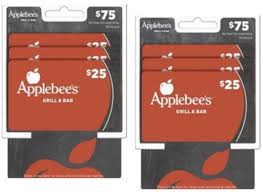 applebee s gift card only 50 at cvs 75 value