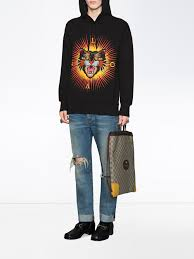 gucci sweatshirt. picture of gucci | w hooded sweatshirt angry cat gucci sweatshirt