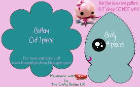 Free Plushie Patterns Magnificent The Crafty Button Free Octopus Sewing Pattern
