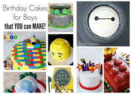 Birthday Cakes For Boys That You Can Make