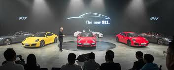 new car releases 2016 singaporePorsche unveils its new 911 model range in Singapore