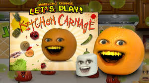Orange Kitchen Annoying Orange Kitchen Carnage W Marshmallow Youtube