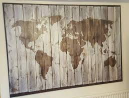 ikea premiar driftwood world map picture large canvas on map wall art ikea with ikea premiar driftwood world map picture large canvas in walsall