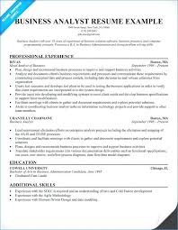 It Business Analyst Resume Mesmerizing Computer Systems Analyst Resume Examples For Business Format Of R Yomm