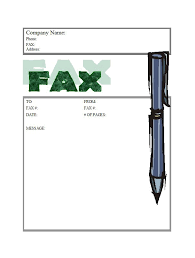 40 Printable Fax Cover Sheet Templates - Template Lab