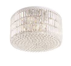 upscale crystal round puccini ceiling