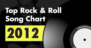 Top 100 Rock Roll Song Chart For 2012