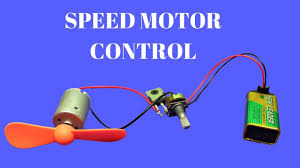 How To Make <b>DC Motor Speed Controller</b> - Simple DC Motor Speed ...