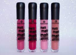 essence matt matt matt lipgloss